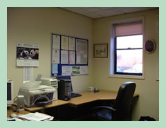 Fully furnished, air conditioned offices.